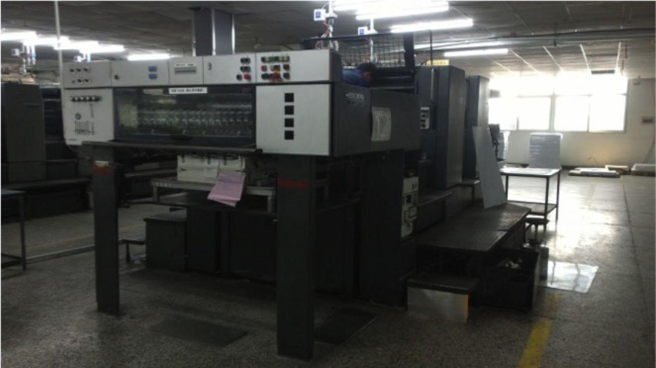Heidelberg double-sided single-color printer<br>印刷设备 - 海德堡双面单色印刷机
