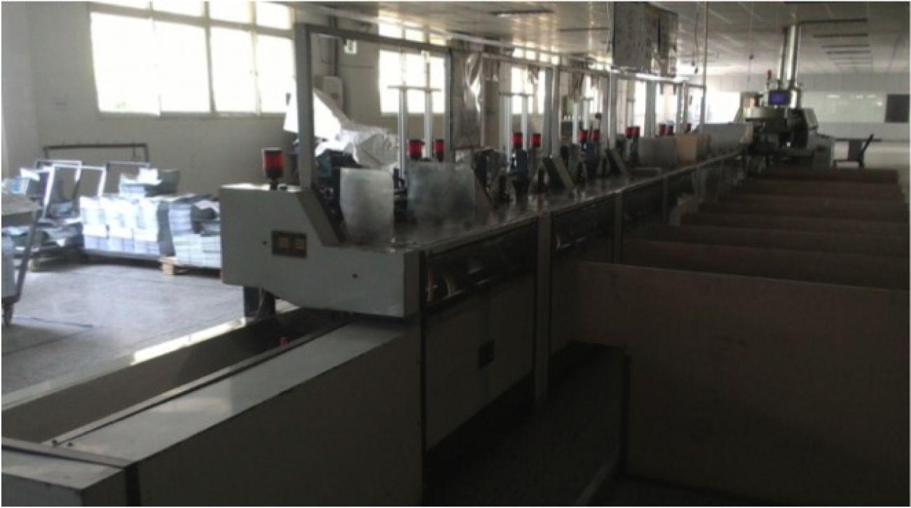 Adhesive binding production line2<br>装订设备 - 胶订联动线2