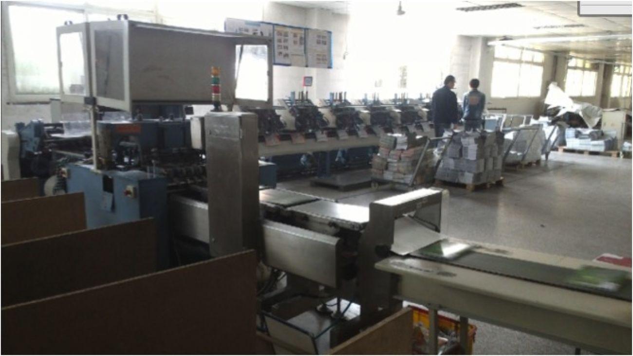 Saddle stitching production line1<br>装订设备 - 骑马钉联动线1