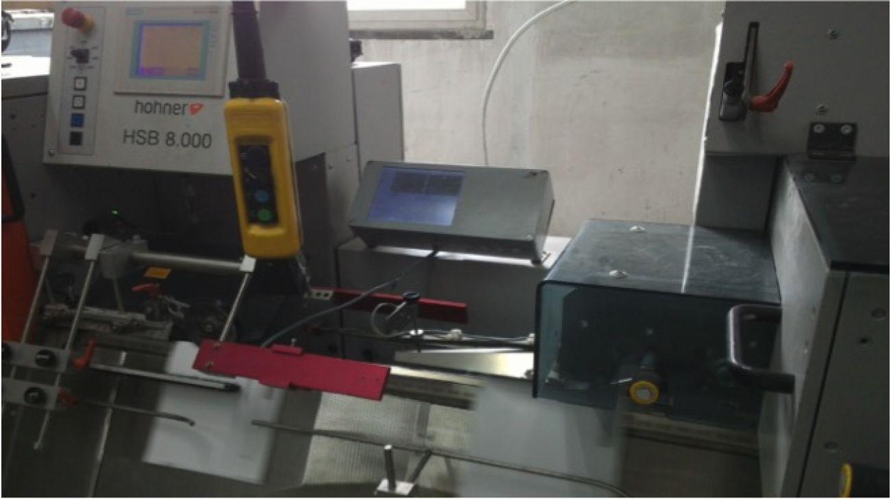 Binding book barcode scanner(overview)<br>装订管控点 - 装订书刊条码扫描仪器(远景)