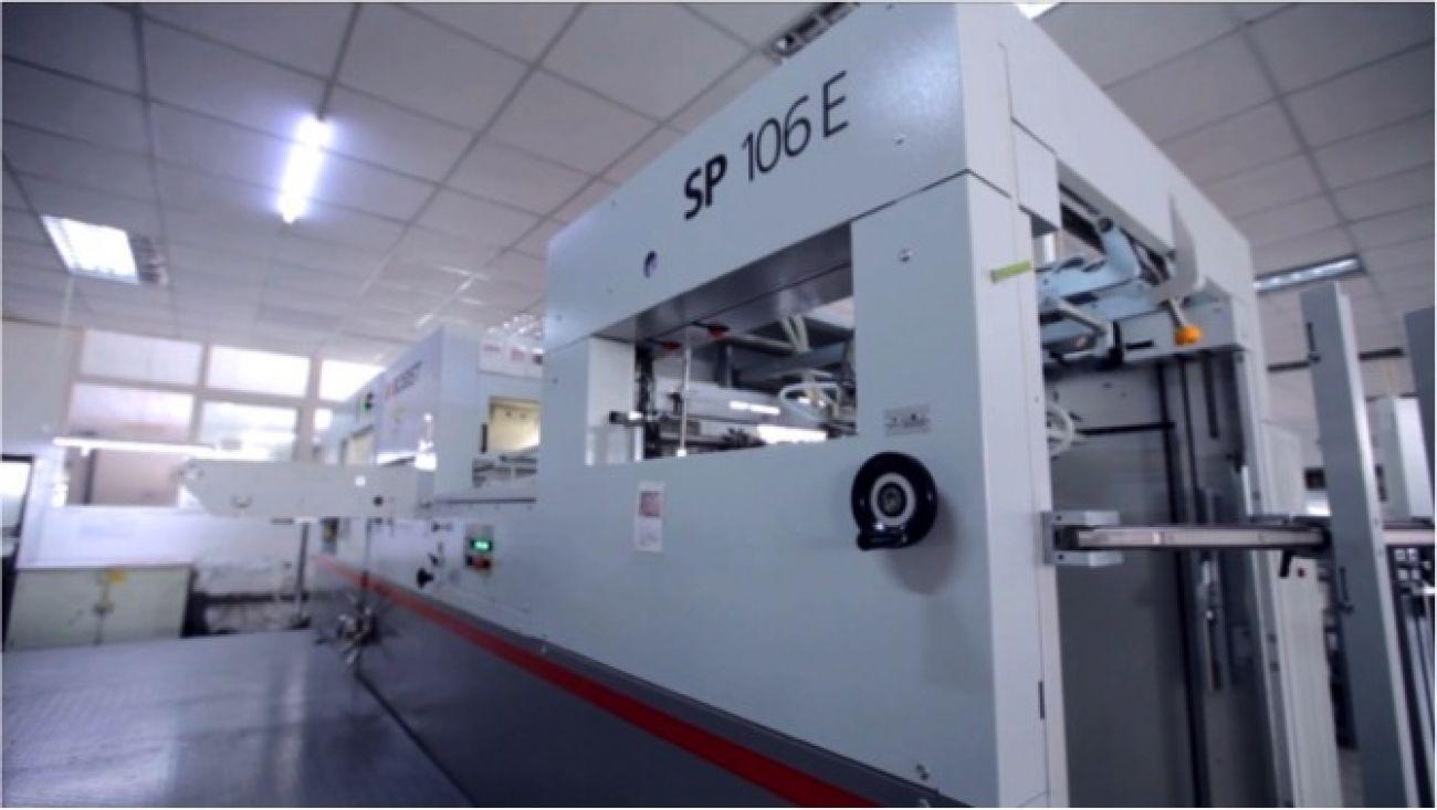 BOBST automatic die-cutting mashine*2<br>包装设备 - BOBST全自动模切机X2