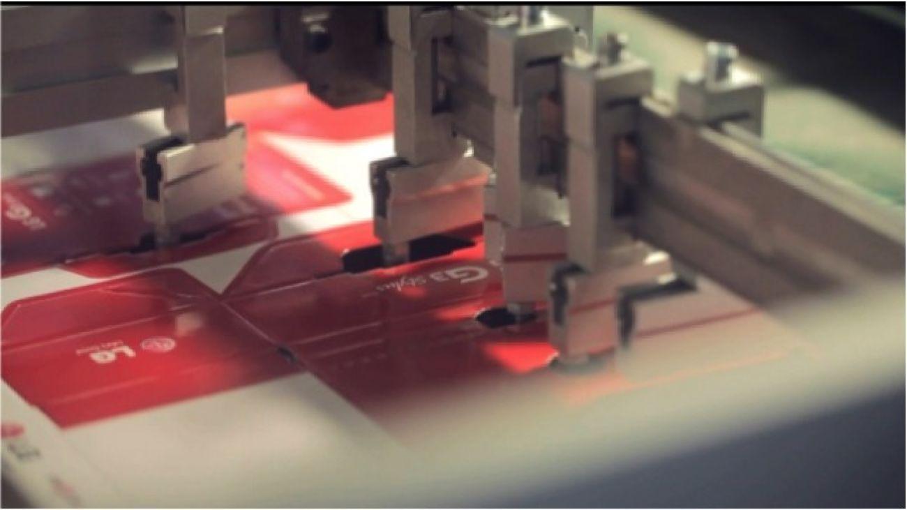 Automatic exhaust device<br>模切管控点 - 自动排废装置